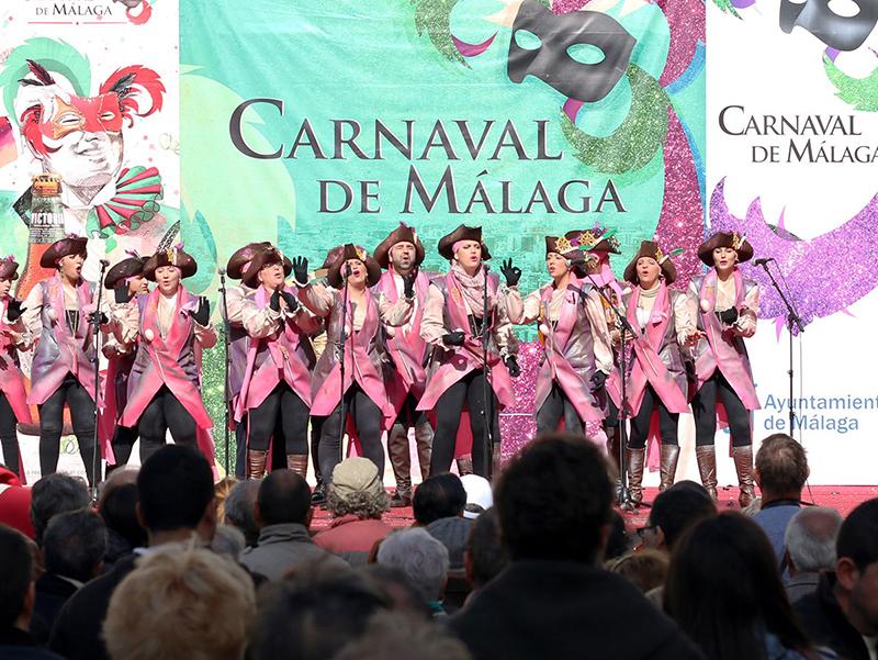 Carnaval em Málaga