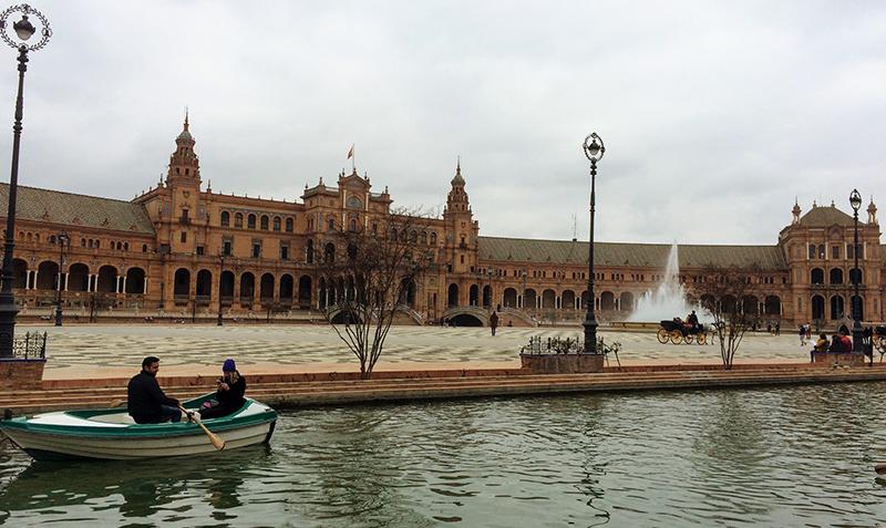 Baixa temporada em Sevilha