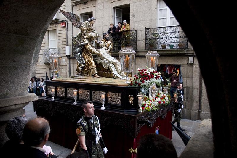 Páscoa em Santiago de Compostela
