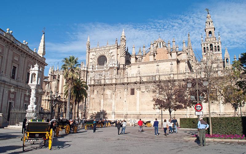 Inverno em Sevilha