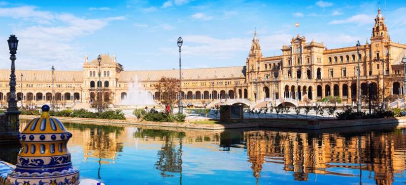 Dia de verão em Sevilha