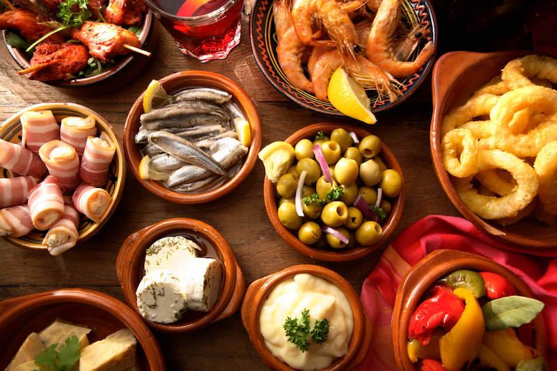 Comida típica em Espanha