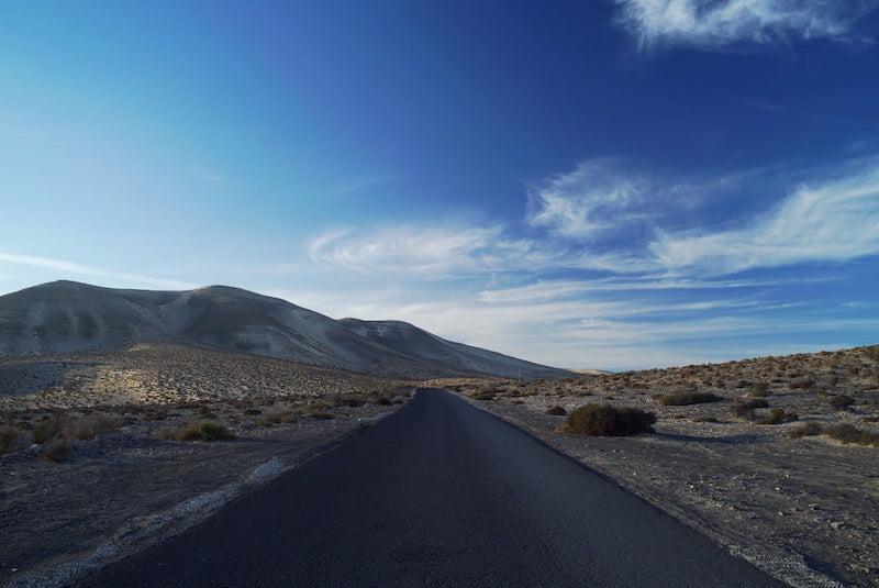 Serviço de transfer: estrada em Fuerteventura